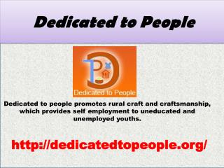 Dedicated to People Promotes Palmleaf Engraving