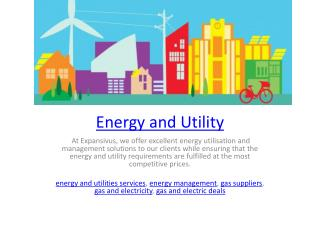 Energy and Utility