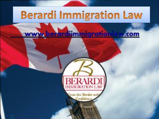 US Immigration From Canada