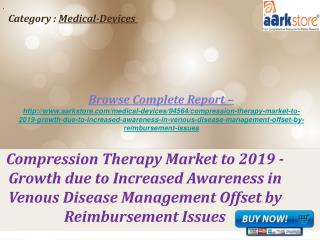 Aarkstore - Compression Therapy Market to 2019