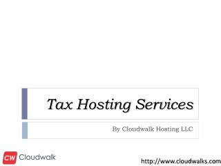 Tax Hosting Services