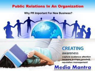Organizational Communication and Public Relations
