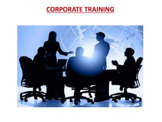 Corporate Training Services in Hyderabad