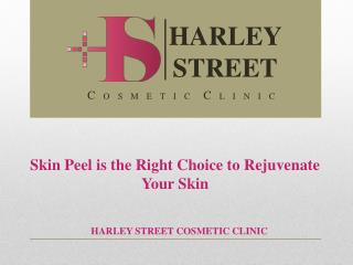 Skin Peel is the Right Choice to Rejuvenate Your Skin