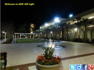 The trust and quality about led Light by AOK LED Light