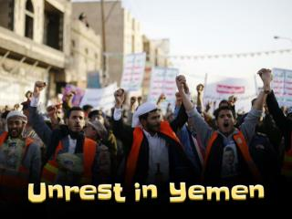 Unrest in Yemen