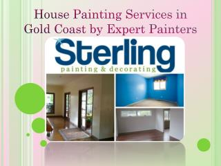 House Painting Services in Gold Coast by Expert Painters