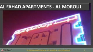 Al Fahad Apartments - Al Morouj– Apartments for Rent