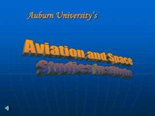 AVIATION and SPACE STUDIES INSTITUTE ASSI