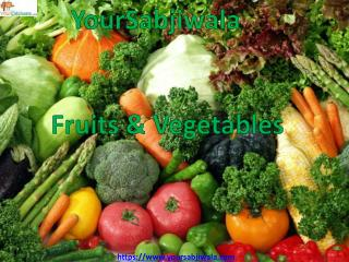 Buy Fresh Vegetables Online in Noida - Yoursabjiwala