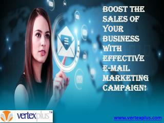 Boost the sales of your business with effective E-mail marke