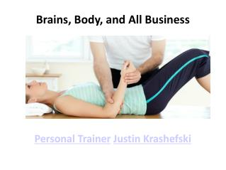 Personal Trainer Justin Krashefski