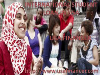 Get Complete Info on International Student Loans in USA