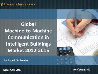 Global M2M Communication in Intelligent Buildings Market