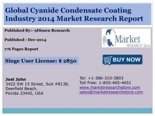 Global Cyanide Condensate Coating Industry 2014 Market Resea