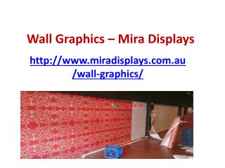 Wall Graphics for business promotion