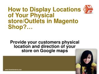 Magento Google Maps Module by FMEExtensions