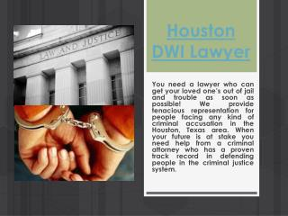 Houston Criminal Attorney