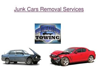 Get Junk Cars Removal Services - Southeasterntow.com
