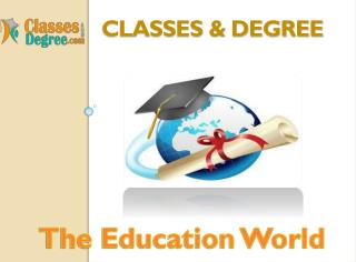 Your Education is important Visit And Choose the best for yo