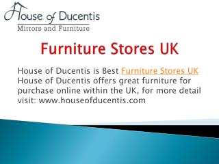 Furniture Stores UK