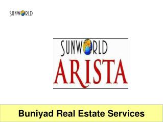 Sunworld Arista futuristic project at sector 168, Noida