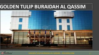 Golden Tulip Buraidah Al Qassim - Best hotels in Saudi Arabi