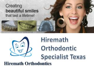 Creating beautiful Smiles that last a lifetime - Hiremath Or