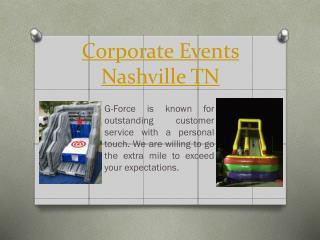 vent Rental Nashville TN