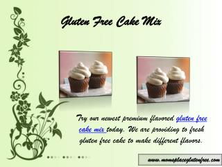 Gluten Free Cake Mix