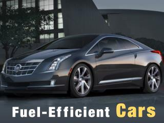 Fuel-Efficient Cars