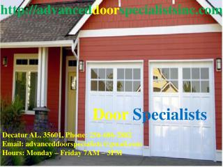 Overhead Doors Decatur AL