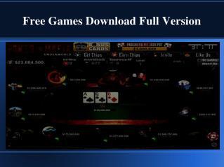 PC free games download