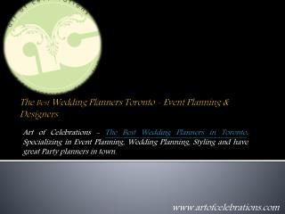 Destination Wedding planning companies and Event planners in