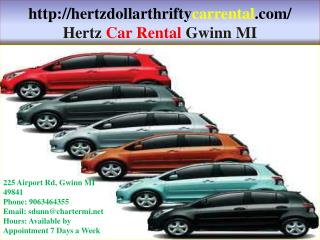 Dollar Car Rental Gwinn MI