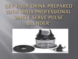 Get Your Drink Prepared With Ninja Professional Single Serve