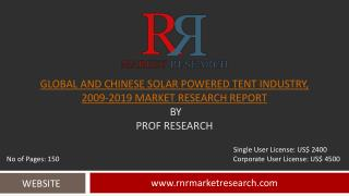 China and Global Solar Powered Tent Market 2019 Industry Res