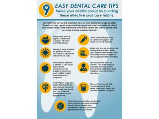 9 Easy dental care tips