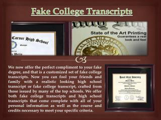fake transcripts Contact 775-337-6006 - You're ready for doc