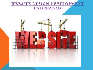 Website Design and Development Company in Hyderabad
