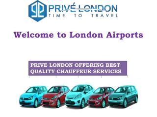 London Airports Chauffeur Car Services