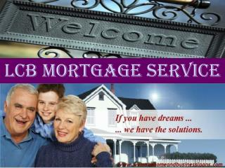 Welcome to Mortgage Service Online