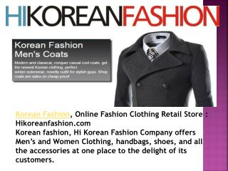 Korean Online Fashion Clothing Retail Store : Hikoreanfashi