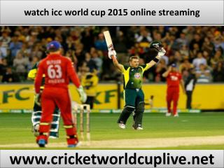 live cricket icc world cup online