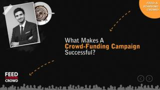 What Makes A Crowd - Funding Campaign Successful