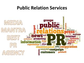 Media Mantra Public Relation Services in Gurgaon India