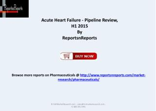 Comparative Analysis Report for Acute Heart Failure