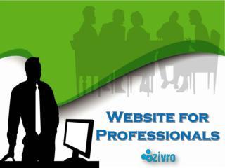 Website for Professionals