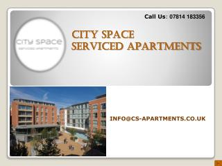 Serviced Apartments In Nottingham