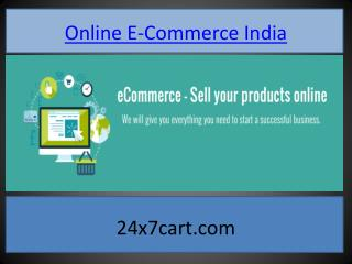 Online E-Commerce India
